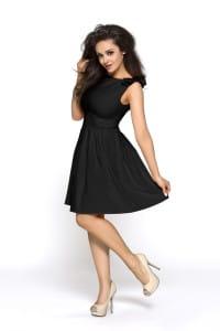 Czarna sukienka Sylwestrowa