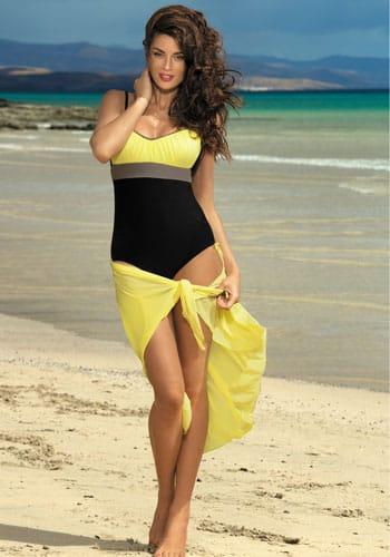 Fajny strój kąpielowy na basen lub na plaże