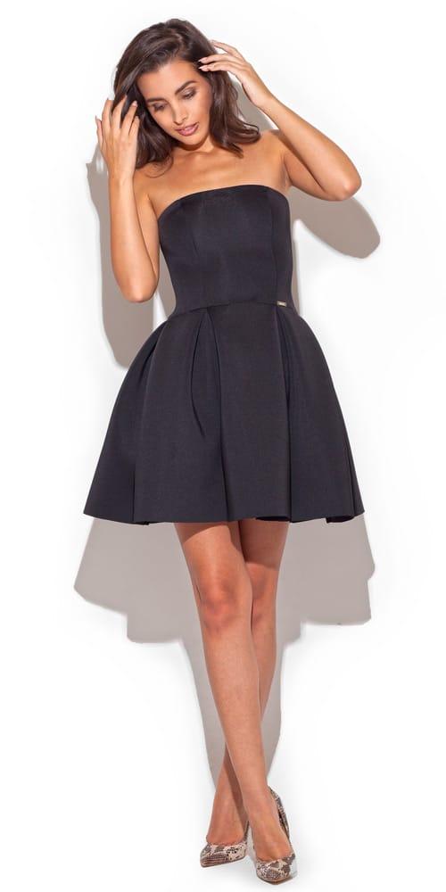 czarna sukienka na wesele
