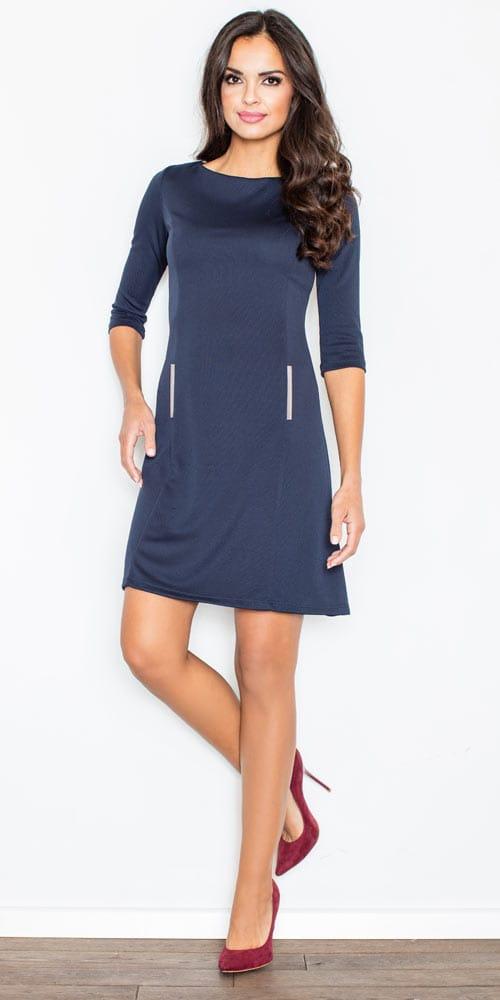 sukienka-M145-Granat