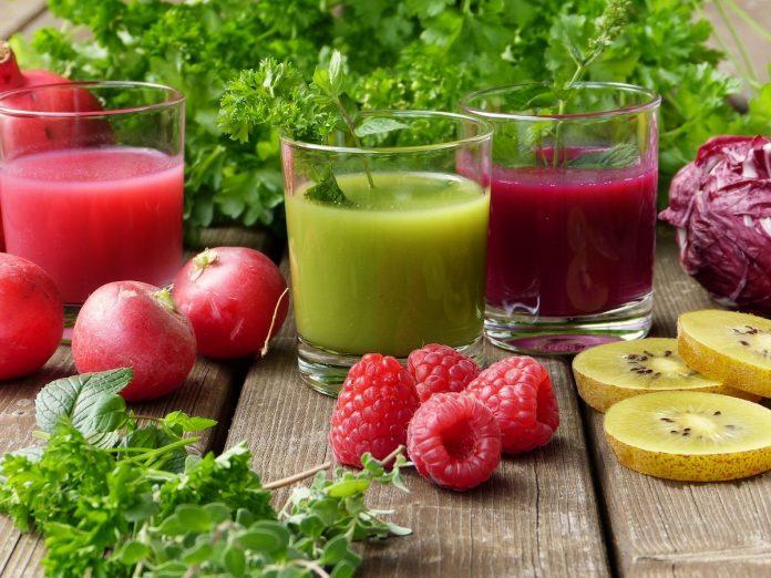 soki warzywno owocowe przepisy