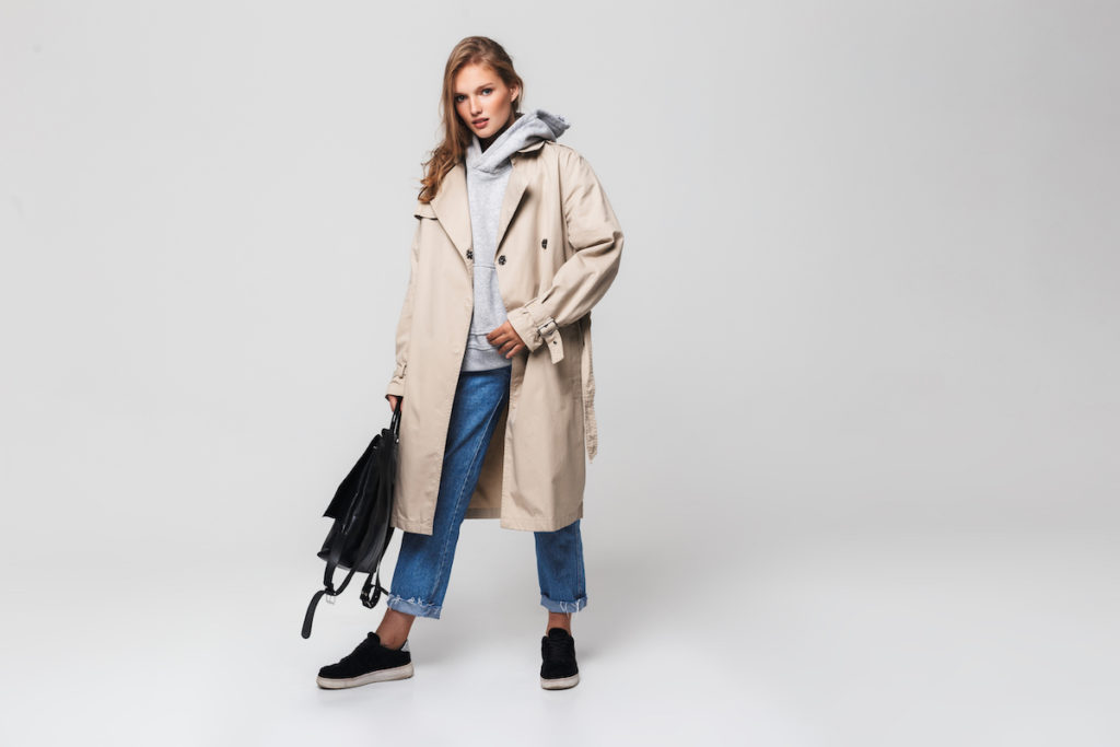 płaszcz damski na wiosnę